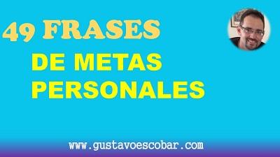 metas personales ejemplos